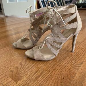 Wild Diva Cream Heels